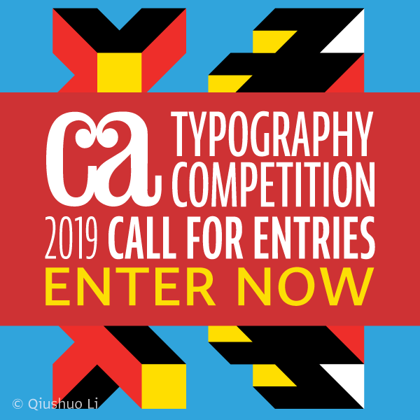 Communication Arts 2019 Typography Competition