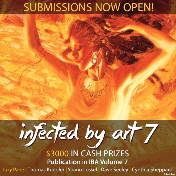 Infected By Art Volume 7 Competition