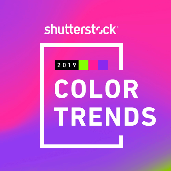 Shutterstocks 2019 Color Trends Report