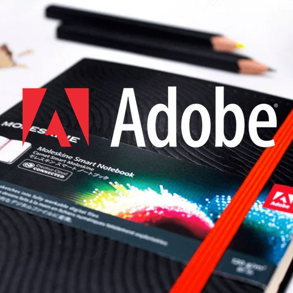 Adobe And Moleskine Creative Cloud Paper Tablet