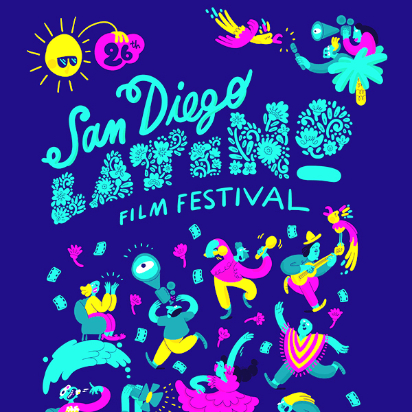 27th San Diego Latino Film Festival Poster Competition
