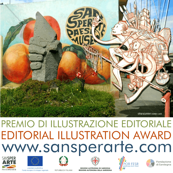 SansperArte Paese Museo International Illustration Award